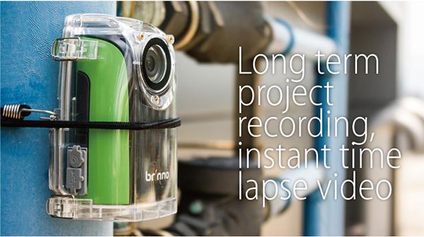 Brinno BCC100 TimeLapse-kamera byggekamera