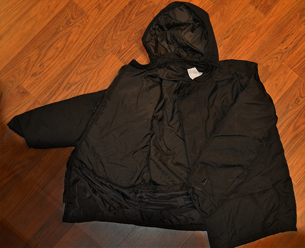 Innsiden av jakken