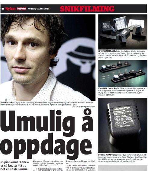Dagbladet - 13.06.2012