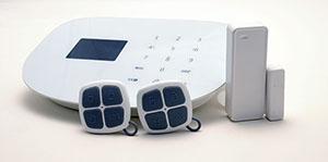 GSM+WiFi alarmsystem