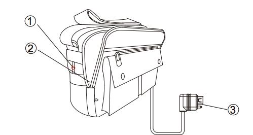 LawMate HB-18HD - Skjult kamera i håndveske